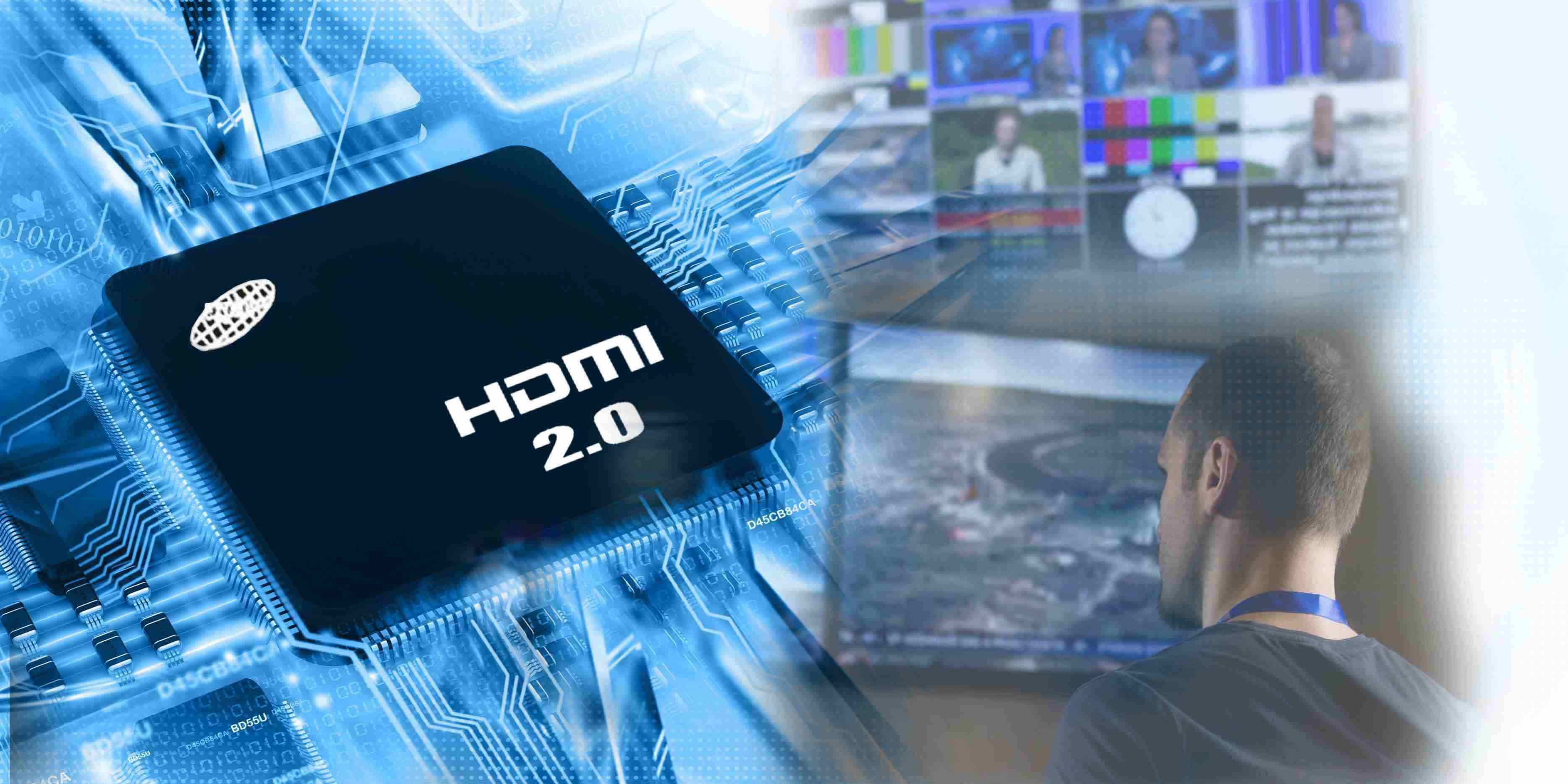 HDMI 2 0 chips to improve switching, signal integrity and connectivity