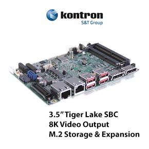 "Kontron 3.5"" Tiger Lake SBC"